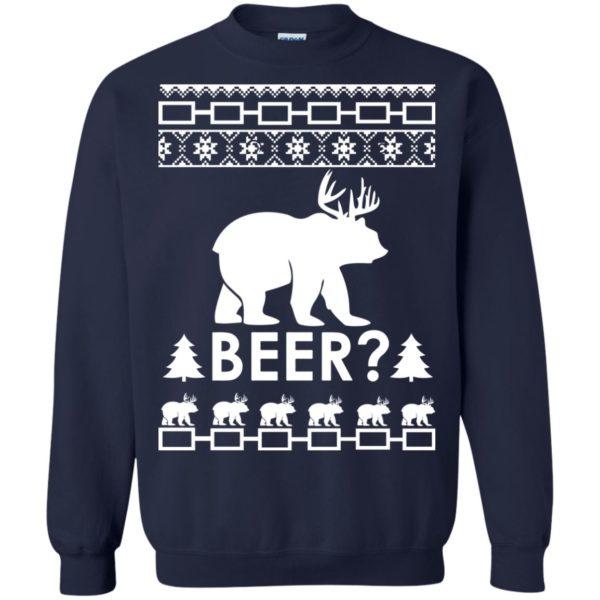 image 2366 600x600 - Christmas Beer Bear-Reindeer Ugly Sweater, Shirt