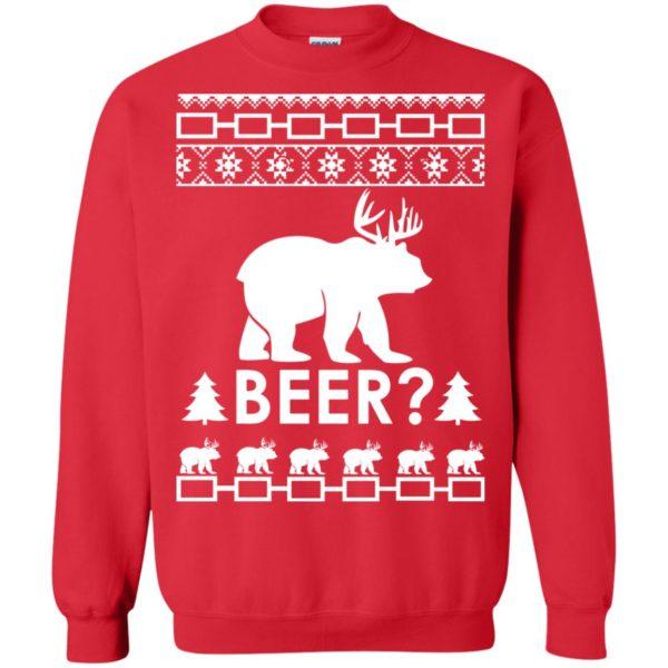image 2367 600x600 - Christmas Beer Bear-Reindeer Ugly Sweater, Shirt