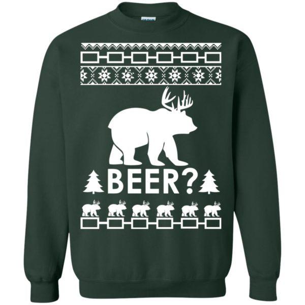 image 2368 600x600 - Christmas Beer Bear-Reindeer Ugly Sweater, Shirt