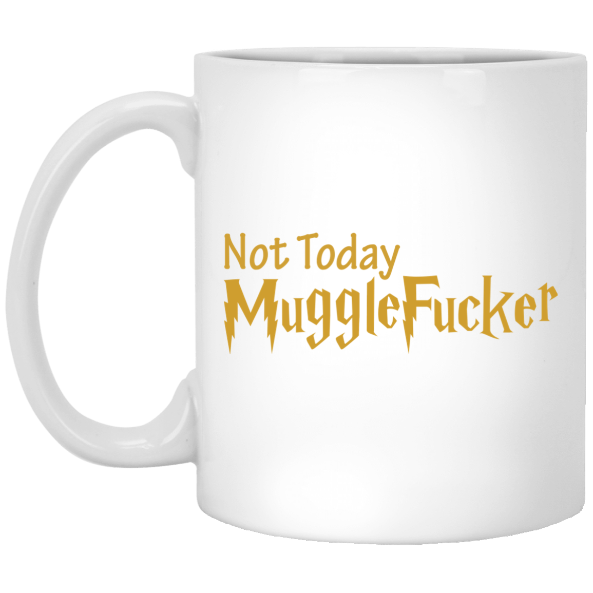 image 24 - Harry Potter: Not Today Mugglefucker mug