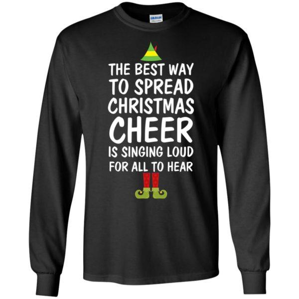 image 2650 600x600 - Elf Best Way To Spread Christmas Cheer Sweater, Ugly Sweatshirt