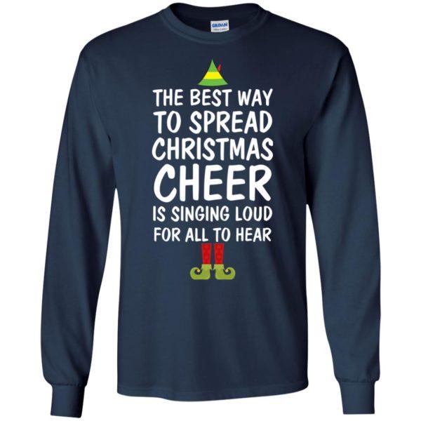image 2651 600x600 - Elf Best Way To Spread Christmas Cheer Sweater, Ugly Sweatshirt