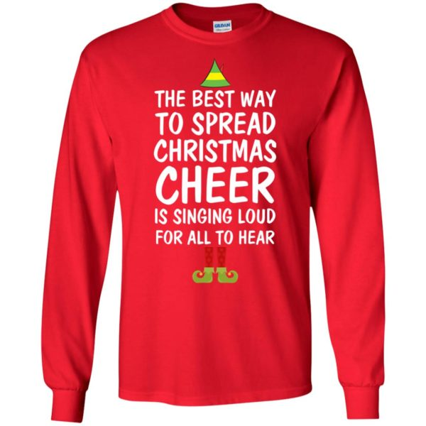 image 2652 600x600 - Elf Best Way To Spread Christmas Cheer Sweater, Ugly Sweatshirt