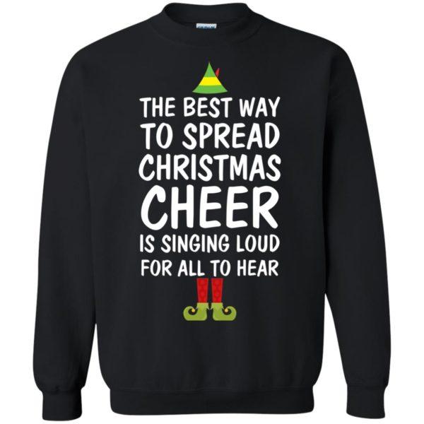 image 2656 600x600 - Elf Best Way To Spread Christmas Cheer Sweater, Ugly Sweatshirt