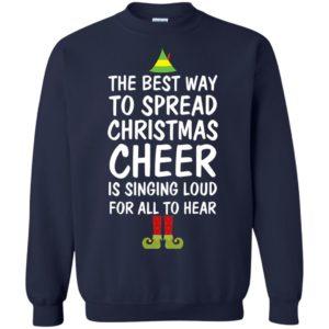 image 2657 300x300 - Elf Best Way To Spread Christmas Cheer Sweater, Ugly Sweatshirt