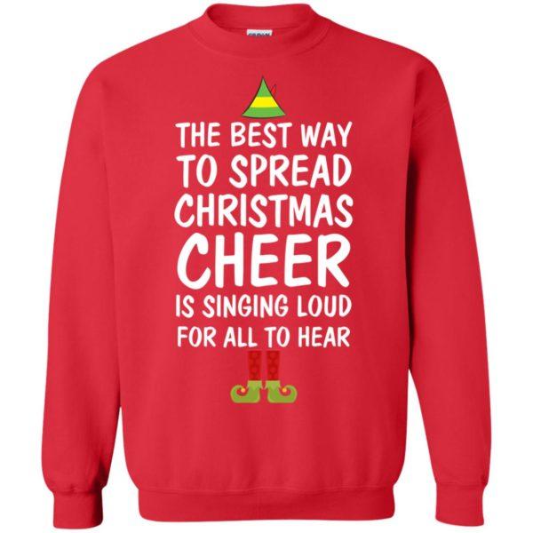 image 2658 600x600 - Elf Best Way To Spread Christmas Cheer Sweater, Ugly Sweatshirt