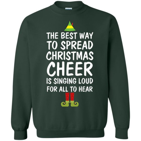 image 2659 600x600 - Elf Best Way To Spread Christmas Cheer Sweater, Ugly Sweatshirt