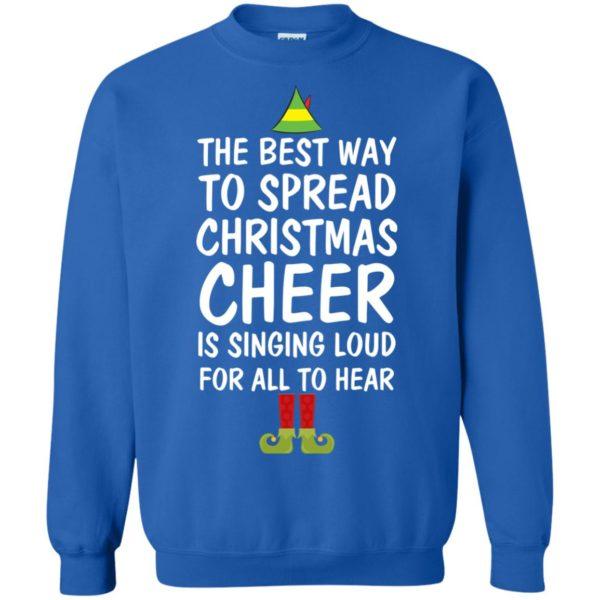 image 2660 600x600 - Elf Best Way To Spread Christmas Cheer Sweater, Ugly Sweatshirt
