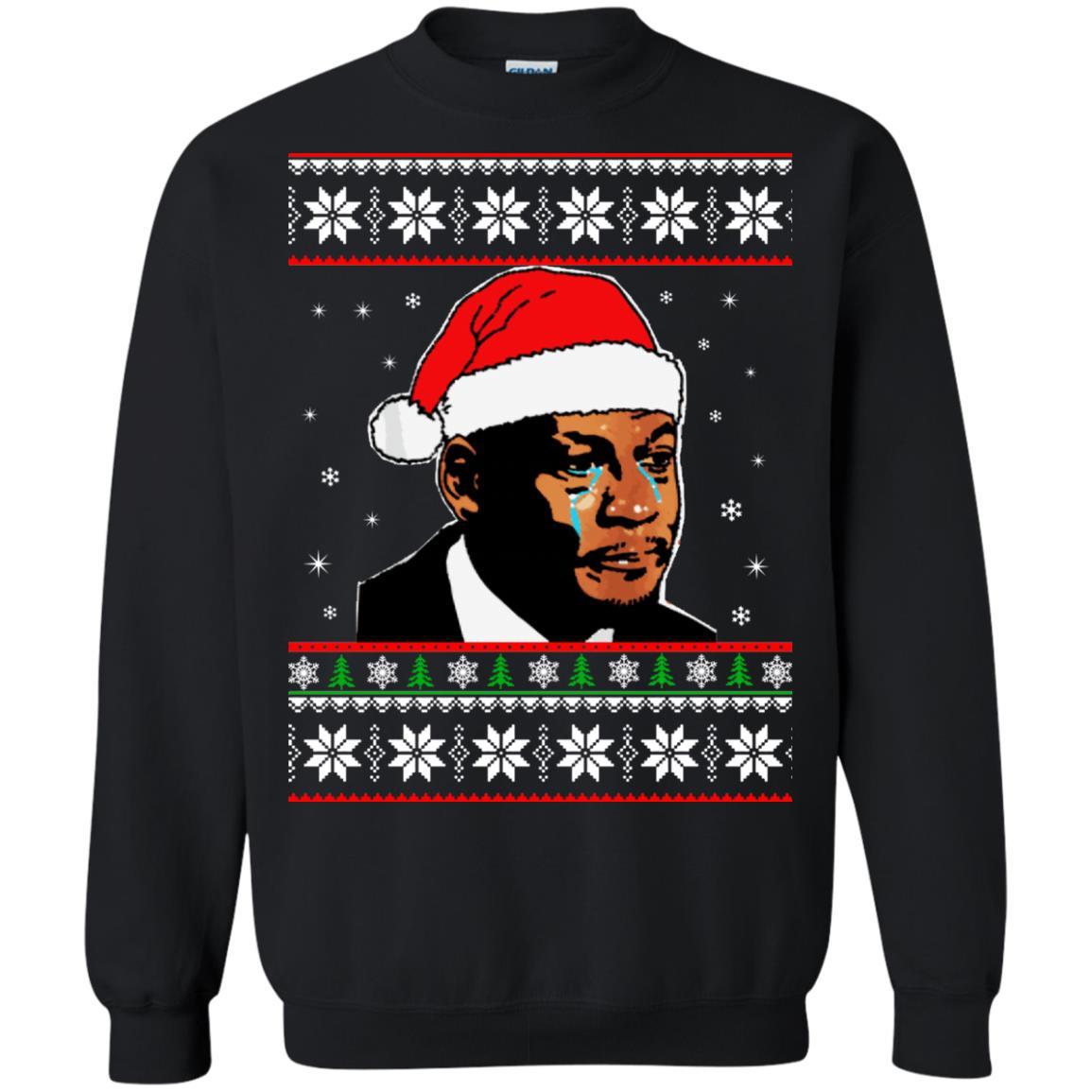 image 2668 - Crying Jordan Christmas Sweater, Christmas Jordan Ugly Sweatshirt