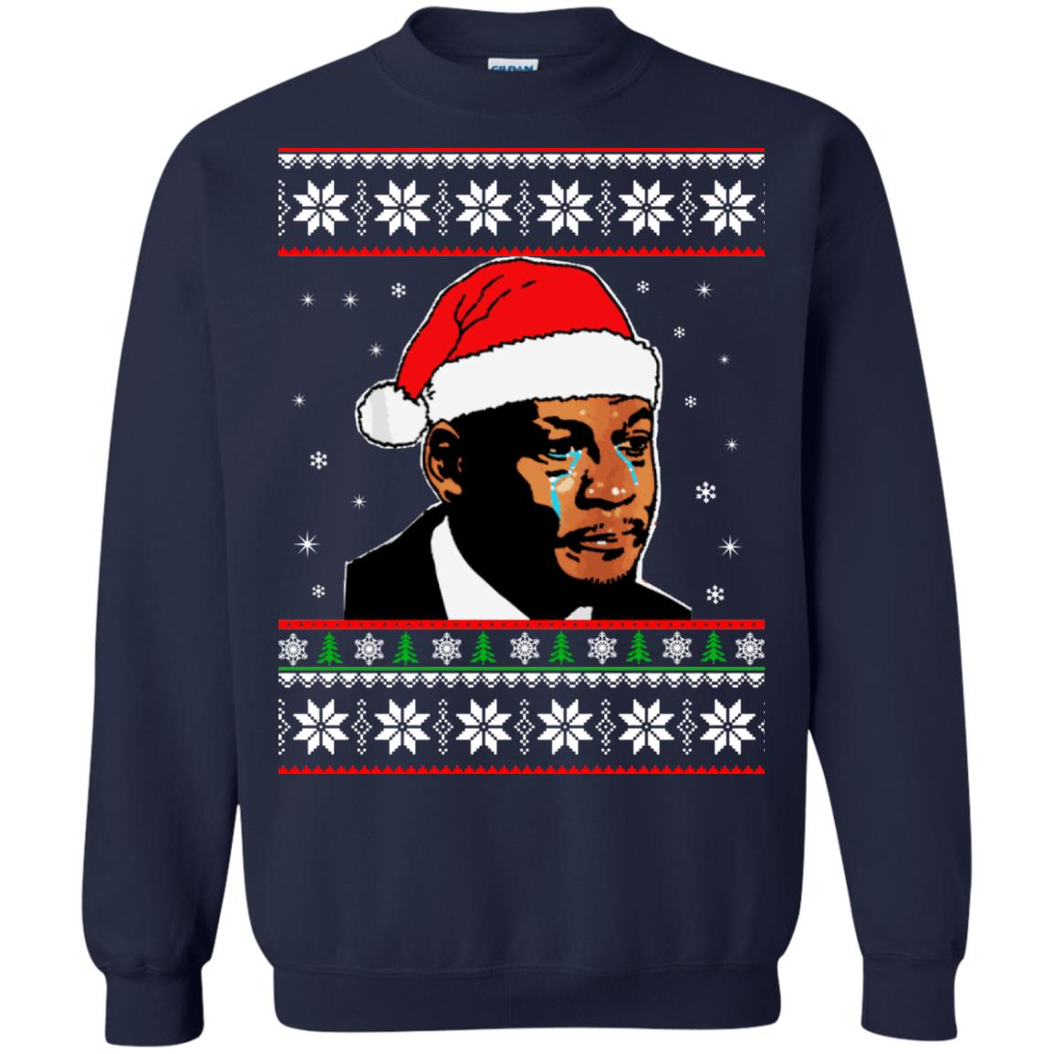 image 2669 - Crying Jordan Christmas Sweater, Christmas Jordan Ugly Sweatshirt
