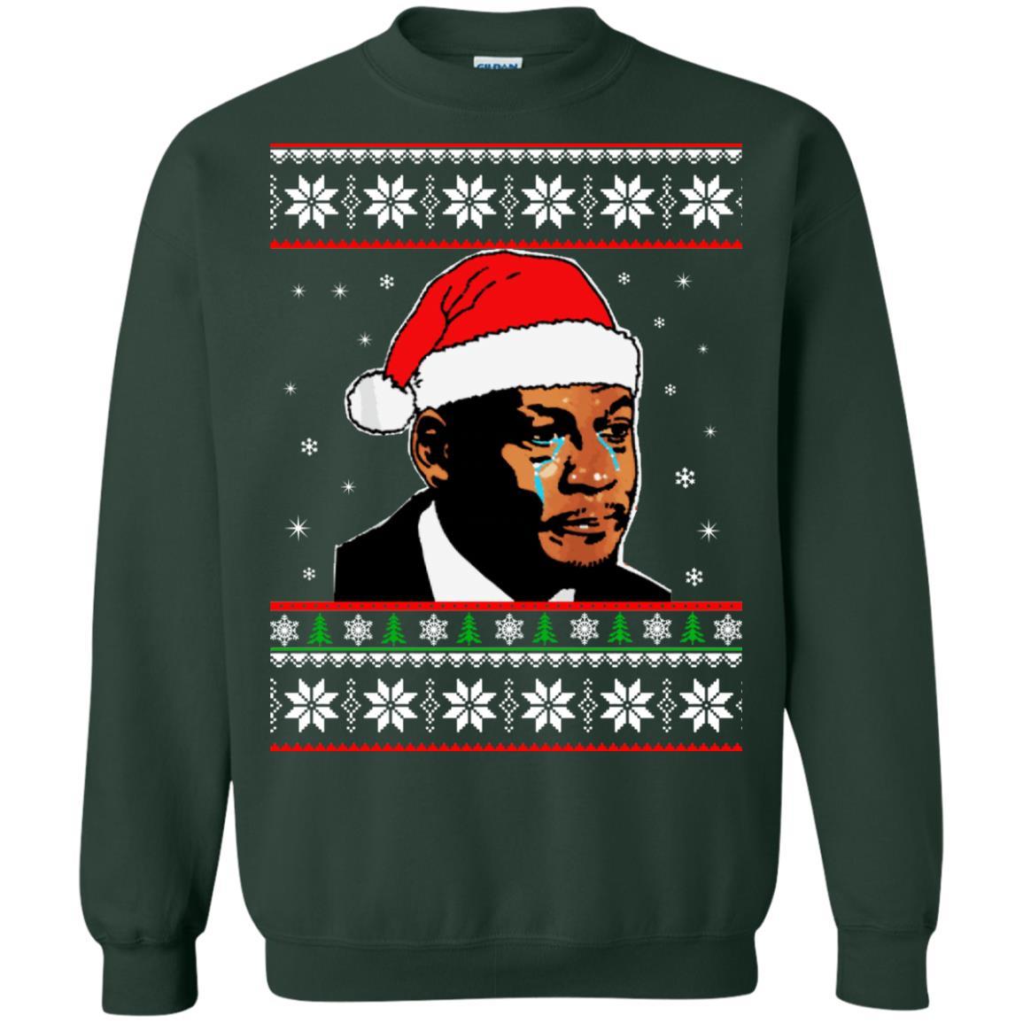 image 2671 - Crying Jordan Christmas Sweater, Christmas Jordan Ugly Sweatshirt