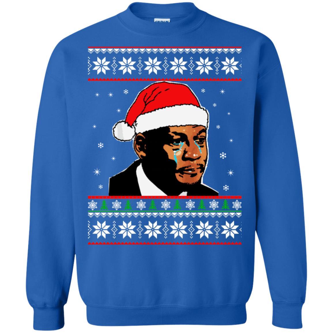 image 2672 - Crying Jordan Christmas Sweater, Christmas Jordan Ugly Sweatshirt