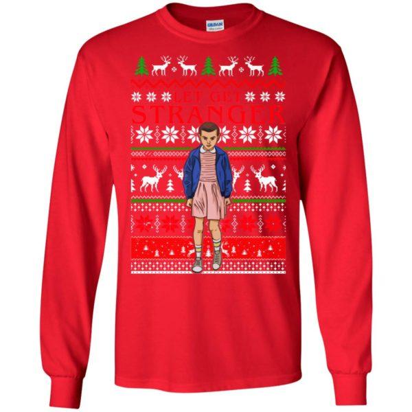 image 3 600x600 - Eleven Let Get Stranger Ugly Sweater, Shirt, Hoodie
