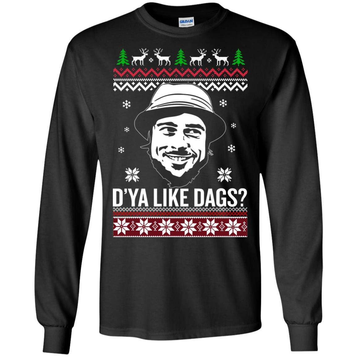 image 3150 - The Snatch D'ya like Dags Ugly Sweater, Christmas Sweatshirt