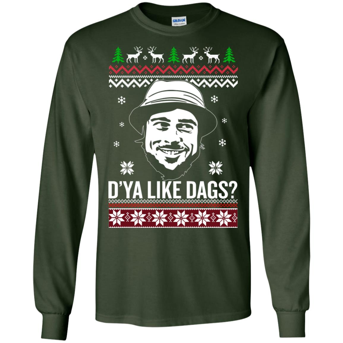 image 3151 - The Snatch D'ya like Dags Ugly Sweater, Christmas Sweatshirt
