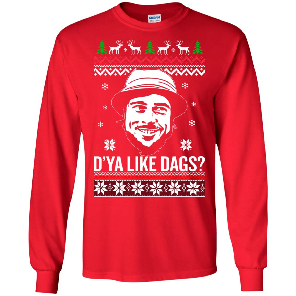 image 3152 - The Snatch D'ya like Dags Ugly Sweater, Christmas Sweatshirt