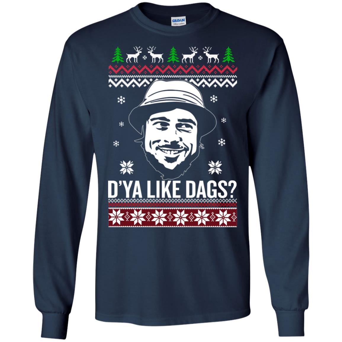 image 3153 - The Snatch D'ya like Dags Ugly Sweater, Christmas Sweatshirt