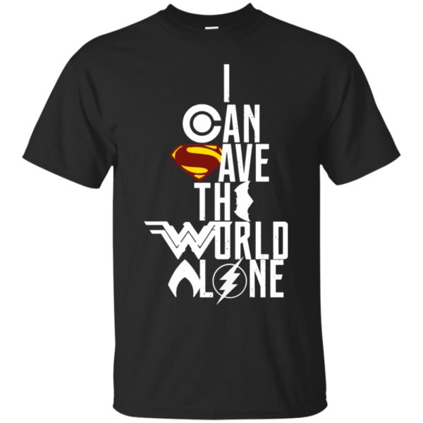 image 3393 600x600 - Superman: I Can Save The World Alone Shirt, Hoodie