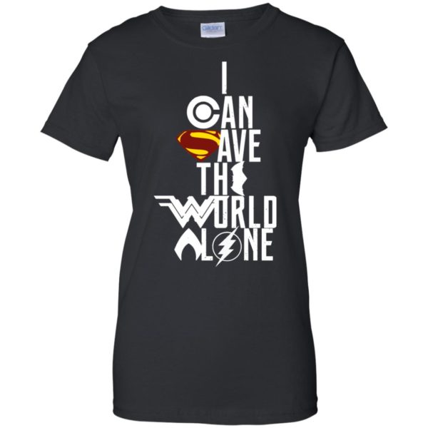 image 3403 600x600 - Superman: I Can Save The World Alone Shirt, Hoodie