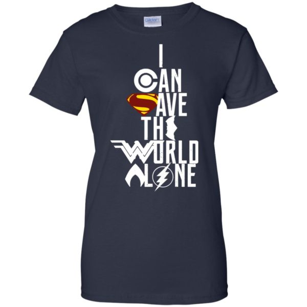 image 3404 600x600 - Superman: I Can Save The World Alone Shirt, Hoodie