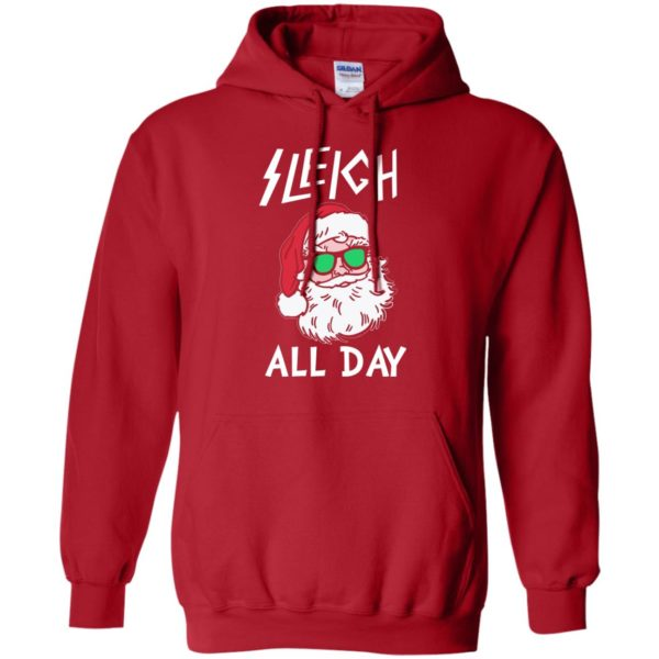 image 342 600x600 - Santa Sleigh All Day Christmas Sweater, Shirt, Hoodie