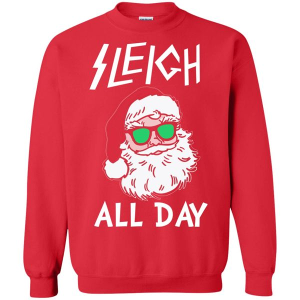 image 345 600x600 - Santa Sleigh All Day Christmas Sweater, Shirt, Hoodie