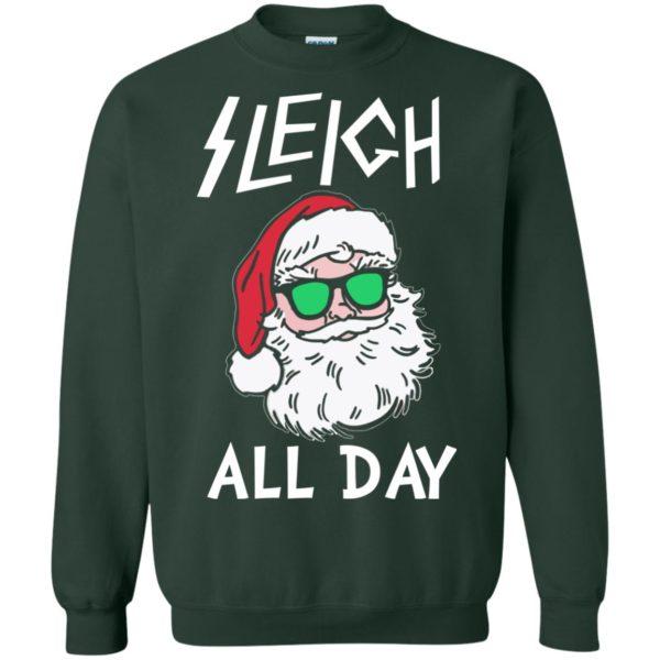 image 346 600x600 - Santa Sleigh All Day Christmas Sweater, Shirt, Hoodie