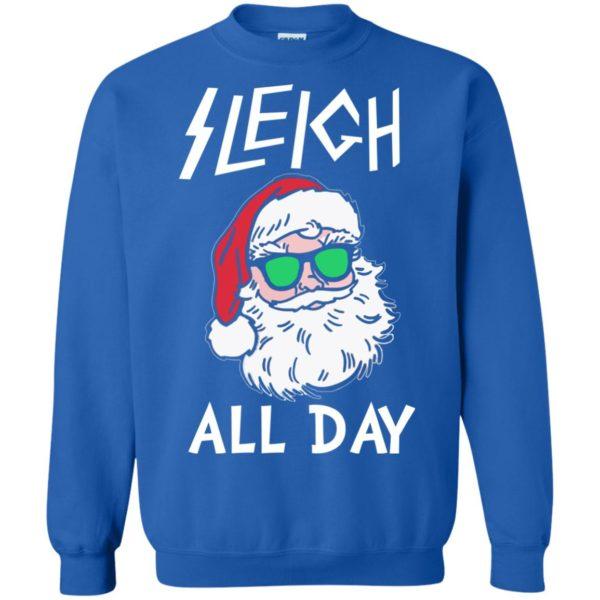 image 347 600x600 - Santa Sleigh All Day Christmas Sweater, Shirt, Hoodie