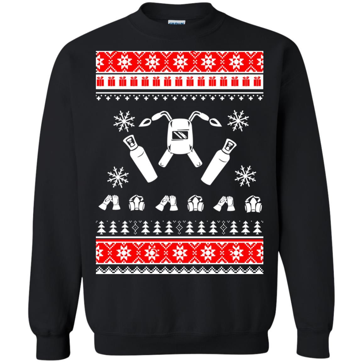 image 3830 - Welder Christmas Sweater, Ugly Sweatshirts