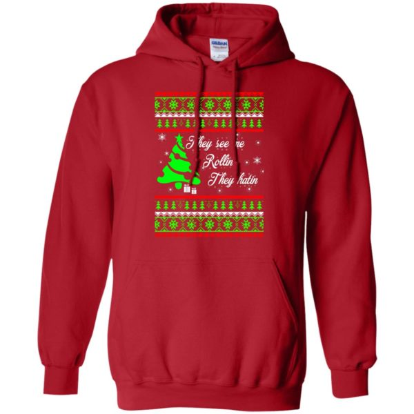 image 3841 600x600 - They See Me Rollin They Hatin Christmas Sweater, Shirt
