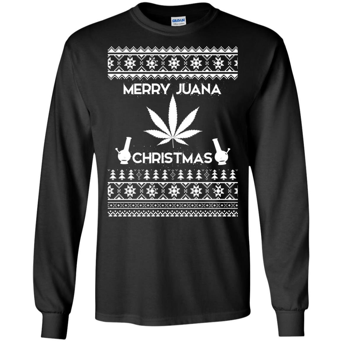 image 3884 - Merry Juana Weed Christmas Sweater, Ugly Sweatshirt