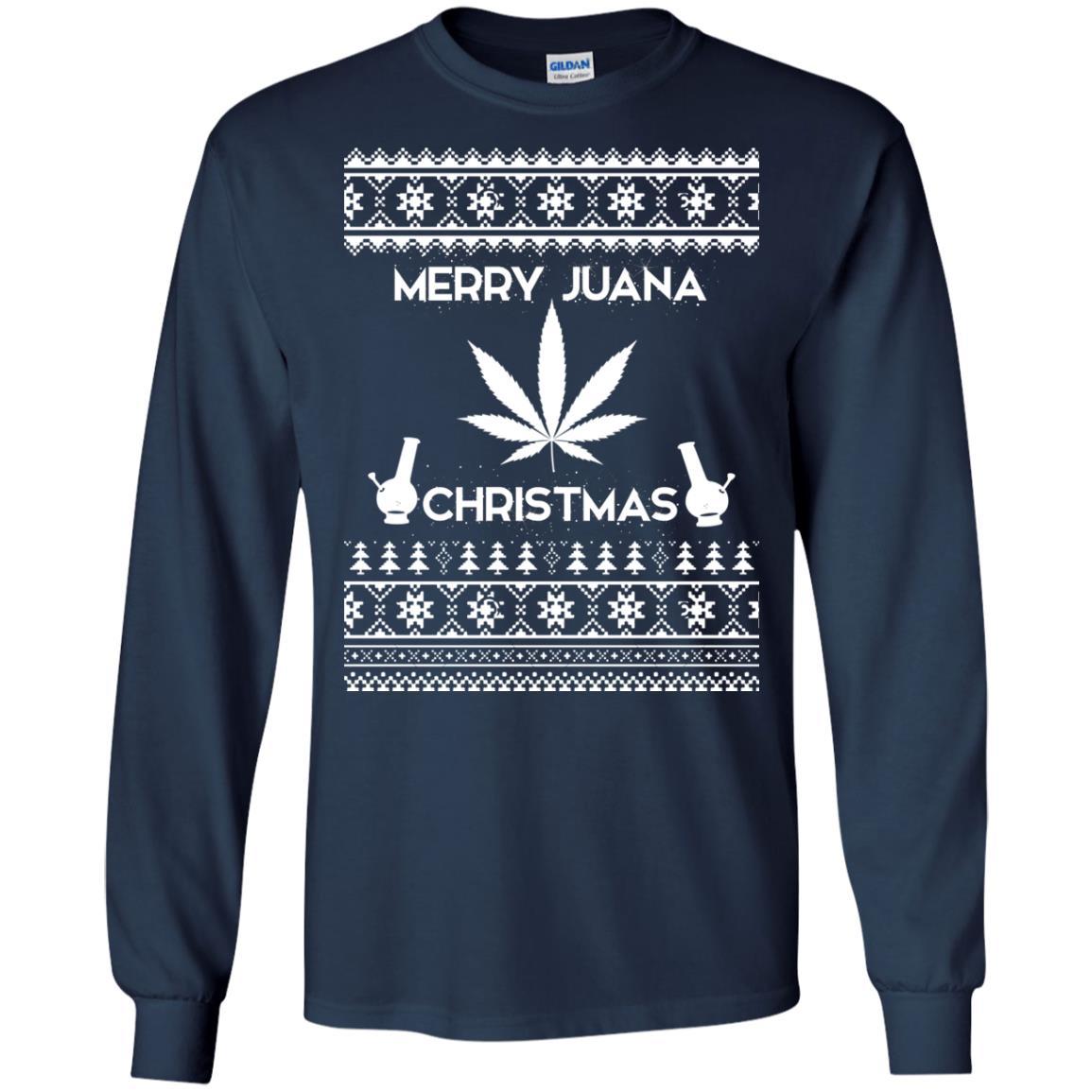 image 3885 - Merry Juana Weed Christmas Sweater, Ugly Sweatshirt