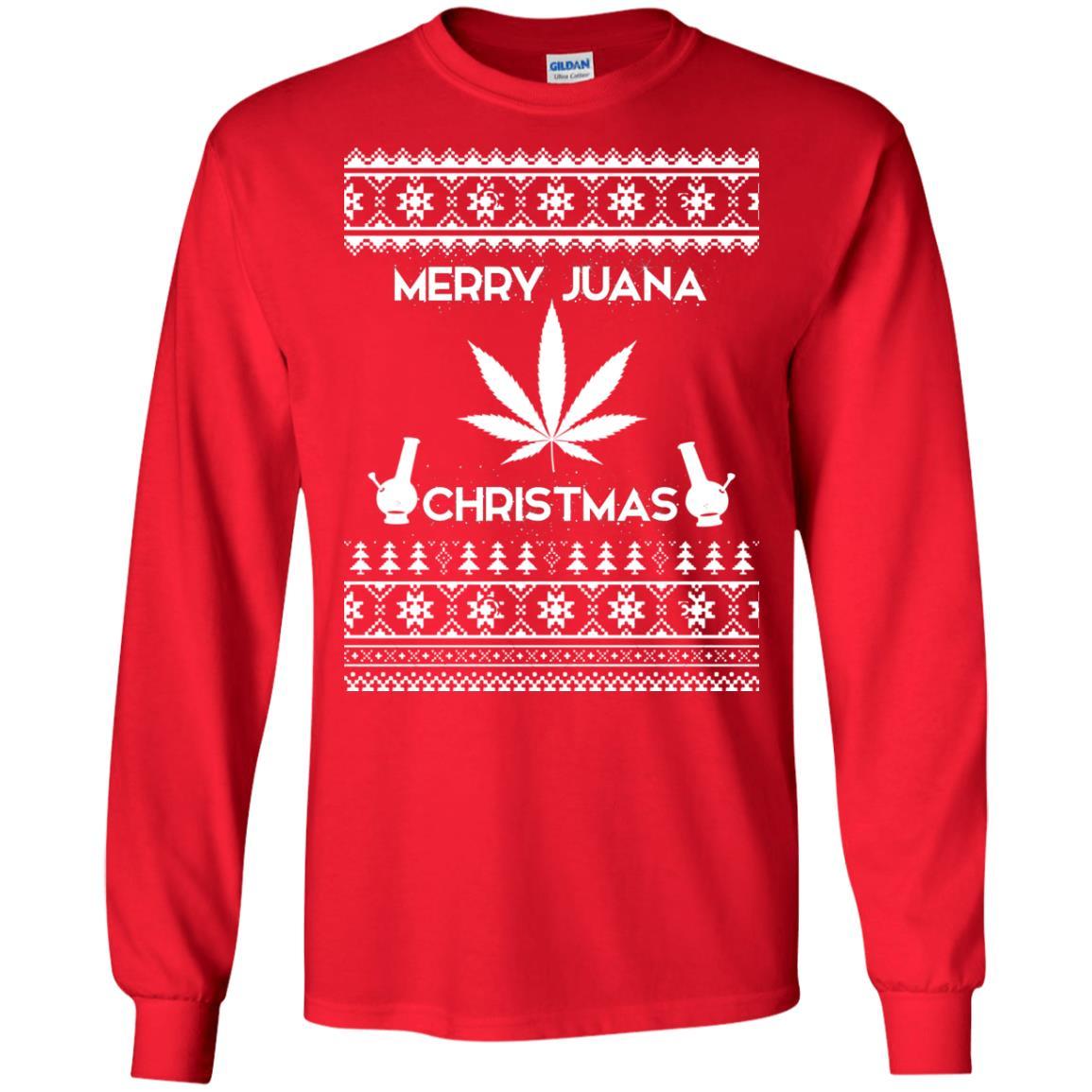 image 3886 - Merry Juana Weed Christmas Sweater, Ugly Sweatshirt