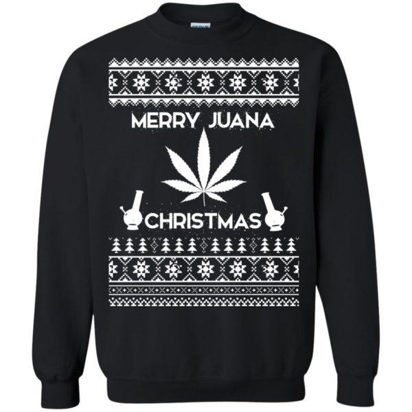 image 3890 600x600 - Merry Juana Weed Christmas Sweater, Ugly Sweatshirt