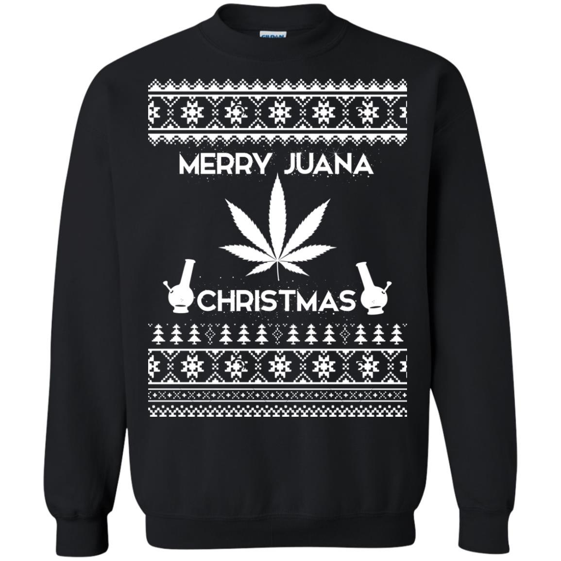 image 3890 - Merry Juana Weed Christmas Sweater, Ugly Sweatshirt