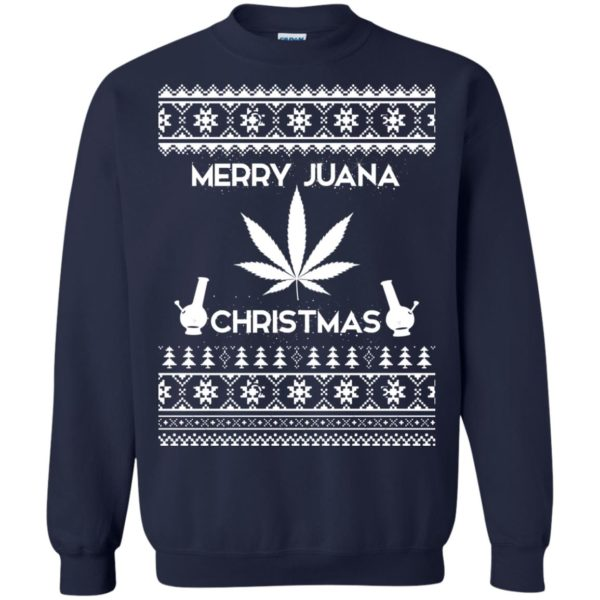 image 3891 600x600 - Merry Juana Weed Christmas Sweater, Ugly Sweatshirt