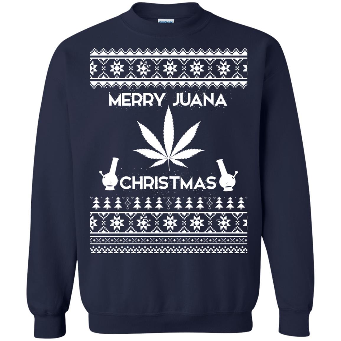 image 3891 - Merry Juana Weed Christmas Sweater, Ugly Sweatshirt