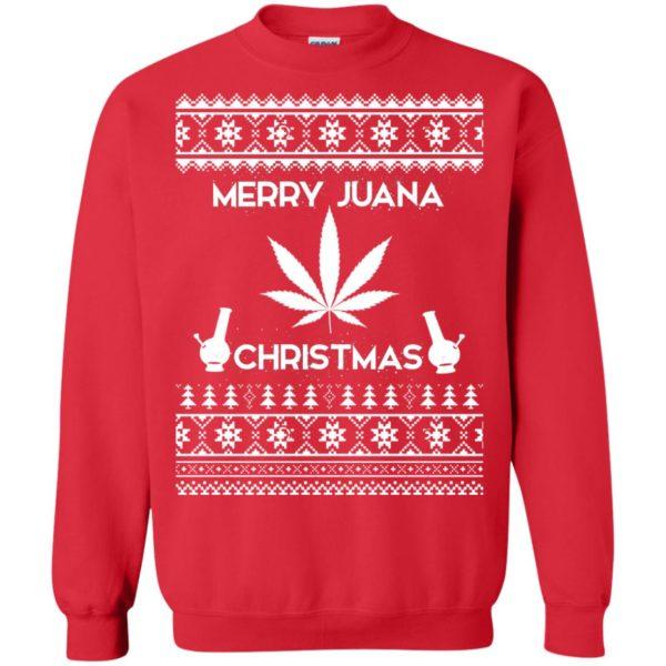 image 3892 600x600 - Merry Juana Weed Christmas Sweater, Ugly Sweatshirt