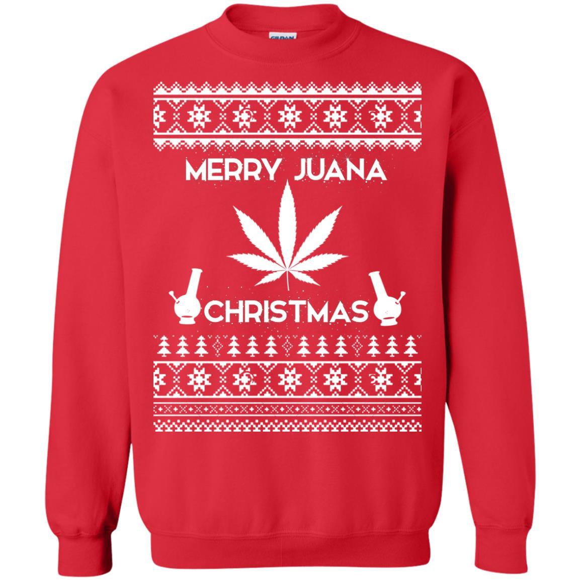 image 3892 - Merry Juana Weed Christmas Sweater, Ugly Sweatshirt