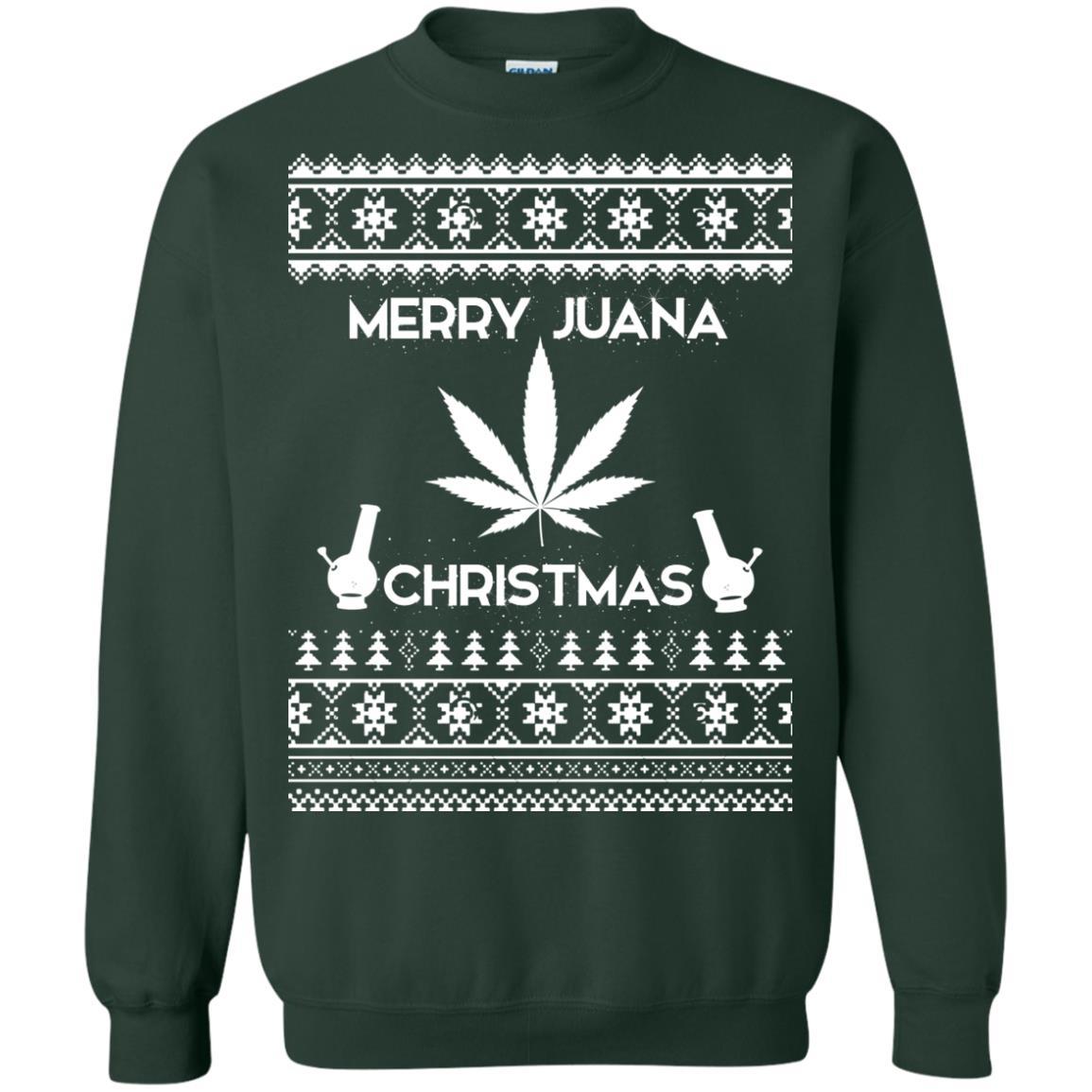 image 3893 - Merry Juana Weed Christmas Sweater, Ugly Sweatshirt