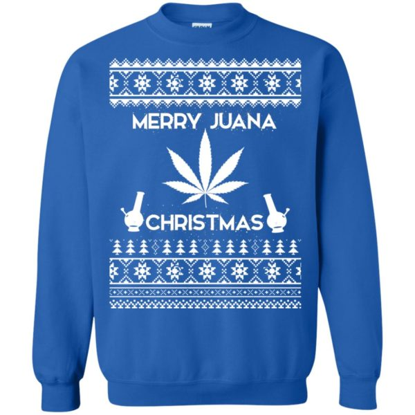 image 3894 600x600 - Merry Juana Weed Christmas Sweater, Ugly Sweatshirt