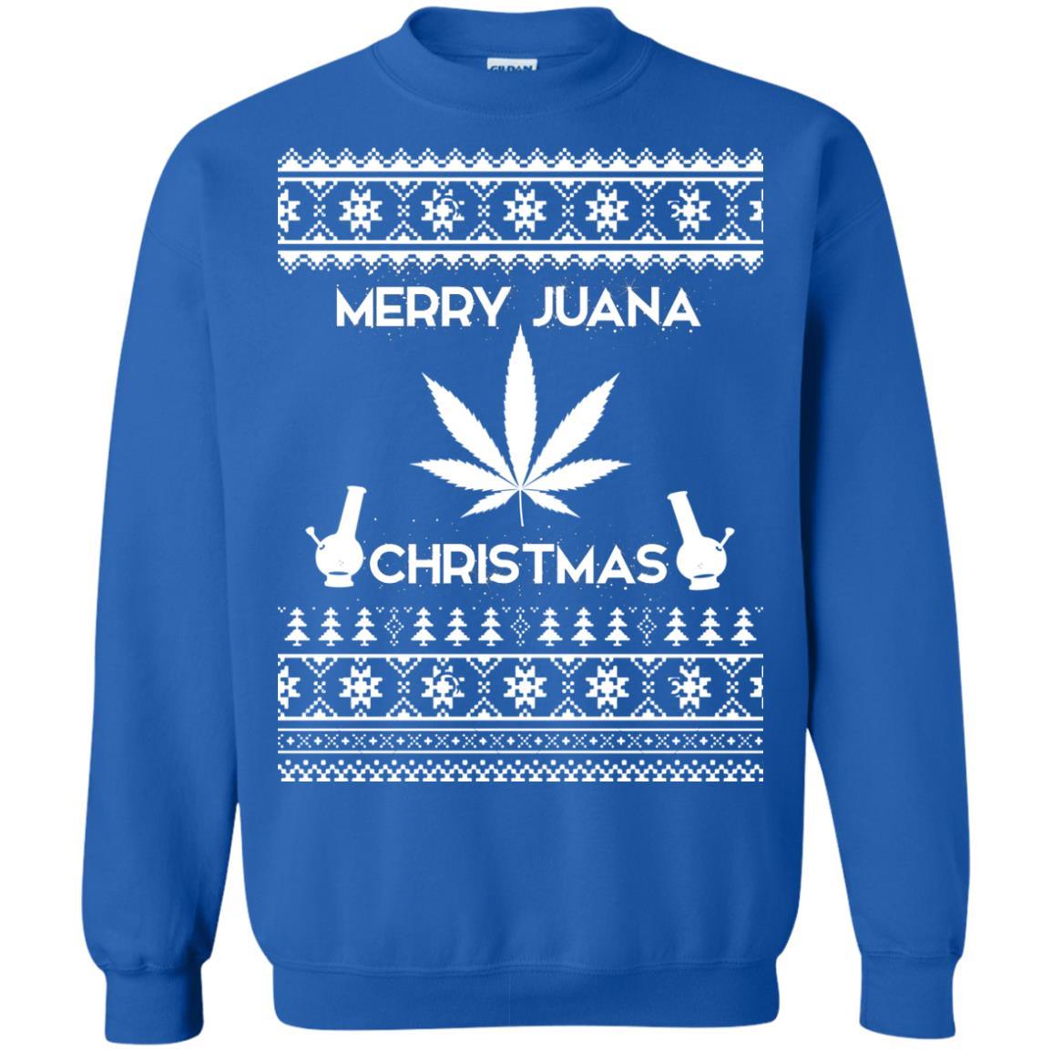 image 3894 - Merry Juana Weed Christmas Sweater, Ugly Sweatshirt