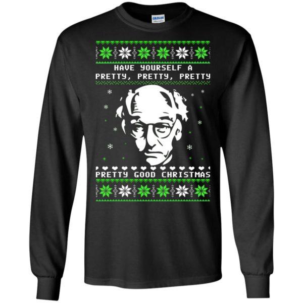 image 397 600x600 - Larry David Pretty Good Christmas Ugly Sweater