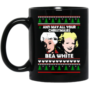 image 4 300x300 - May all your Christmase bea white mug