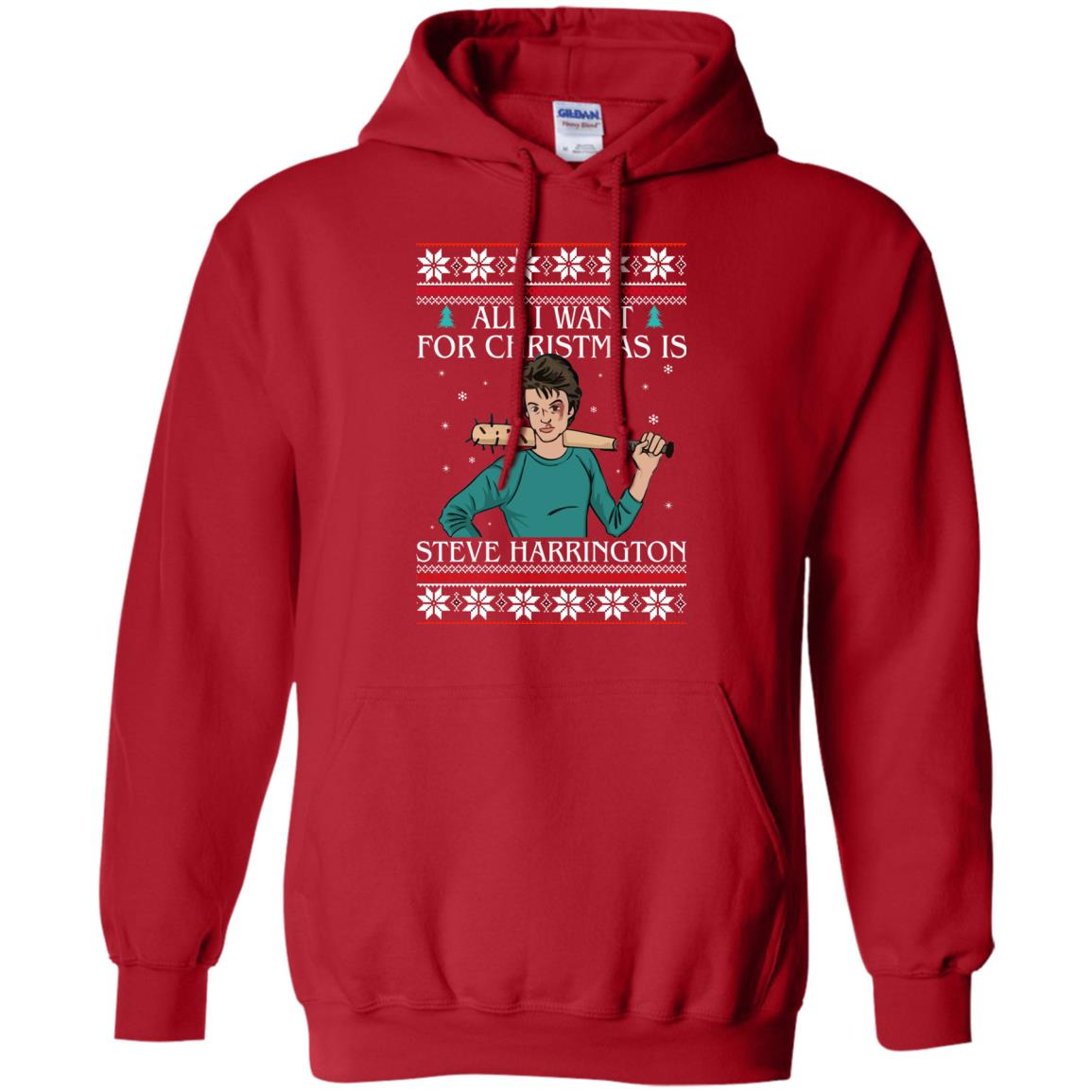 image 4033 - All I want for Christmas is Steve Harrington Ugly Sweater