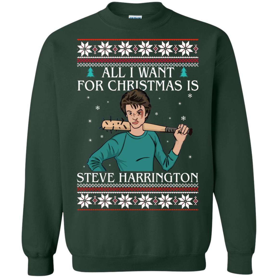 image 4037 - All I want for Christmas is Steve Harrington Ugly Sweater