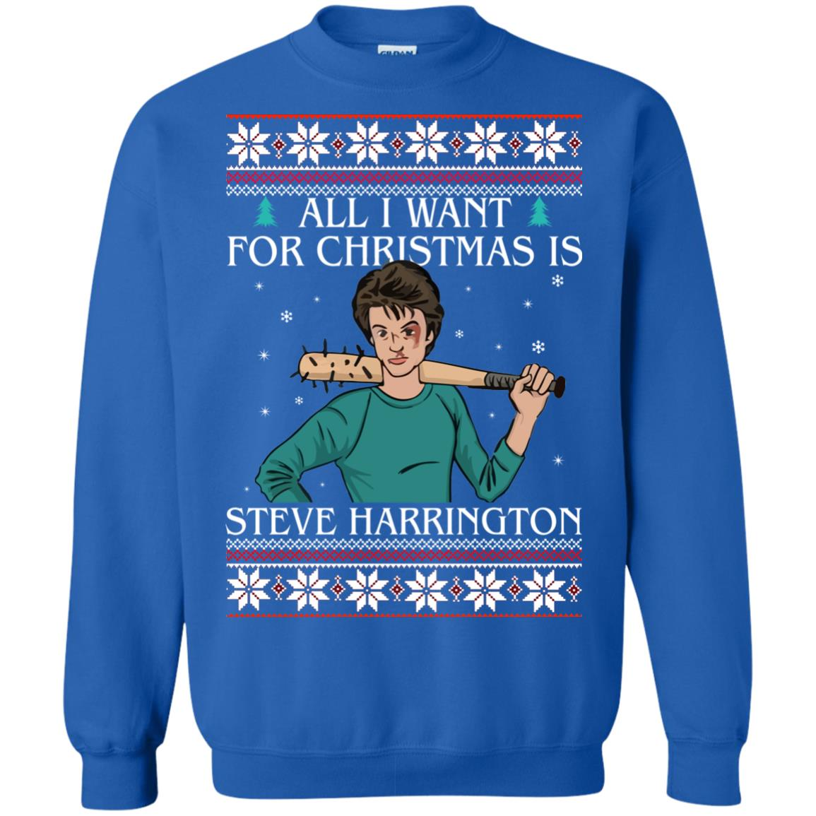 image 4038 - All I want for Christmas is Steve Harrington Ugly Sweater