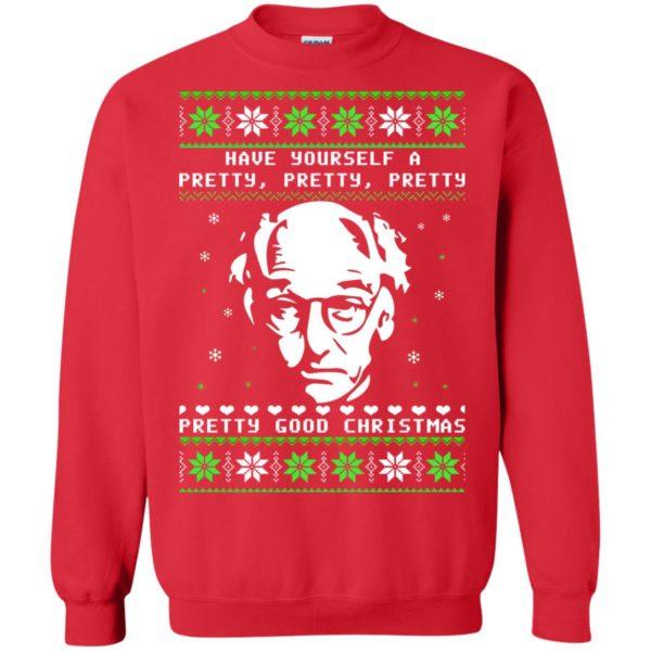 image 405 600x600 - Larry David Pretty Good Christmas Ugly Sweater