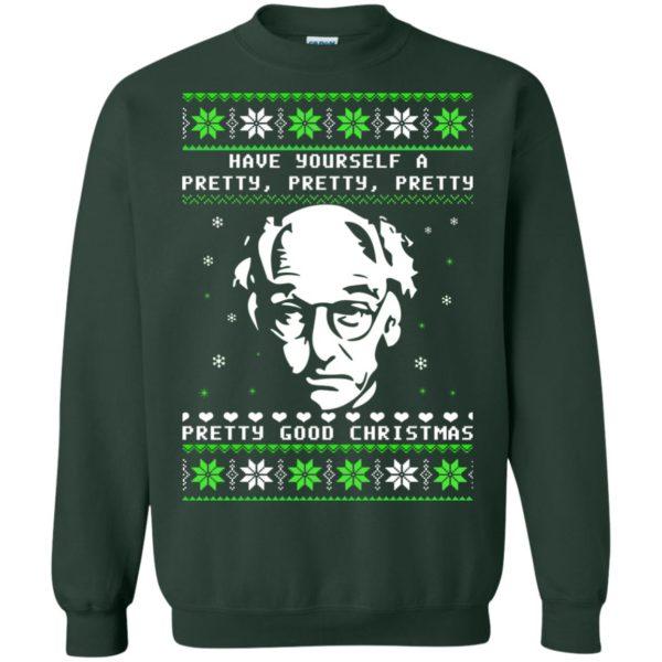 image 406 600x600 - Larry David Pretty Good Christmas Ugly Sweater