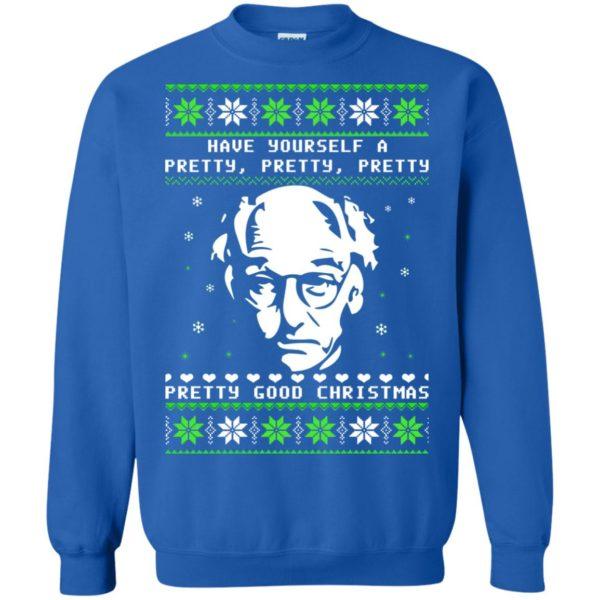 image 407 600x600 - Larry David Pretty Good Christmas Ugly Sweater